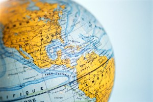 Americas on Globe